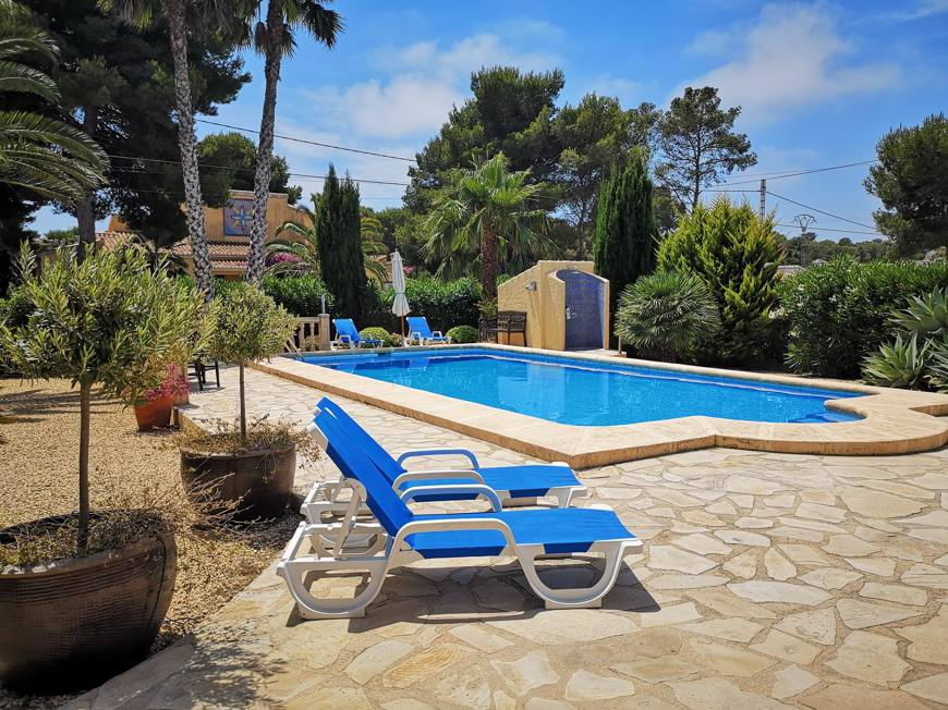 private Villa in Javea zur Alleinnutzung mit privatem Pool